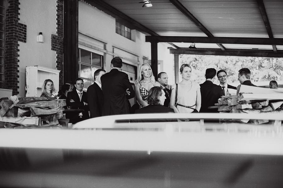 Hochzeitsgäste Fotoreportage