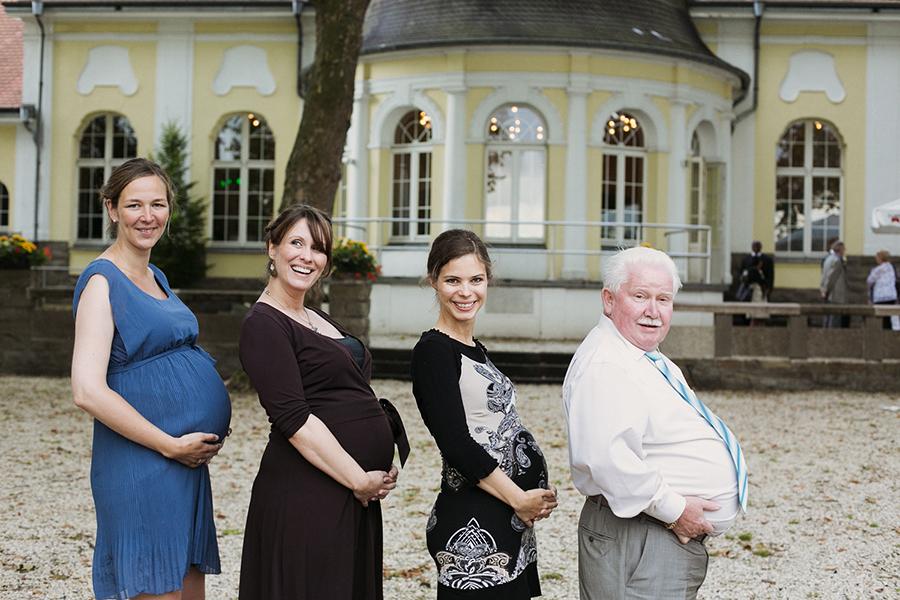 Gruppenfoto Schwangerschaft