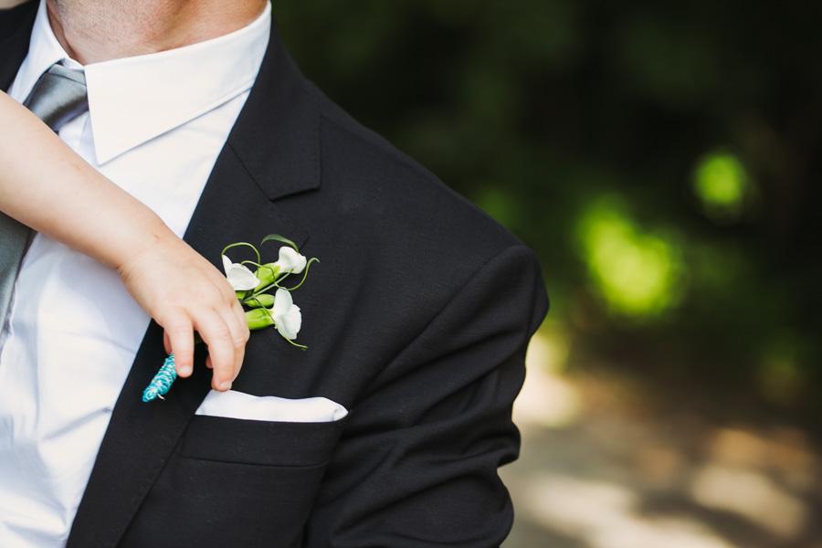 Bräutigam Ansteckblume