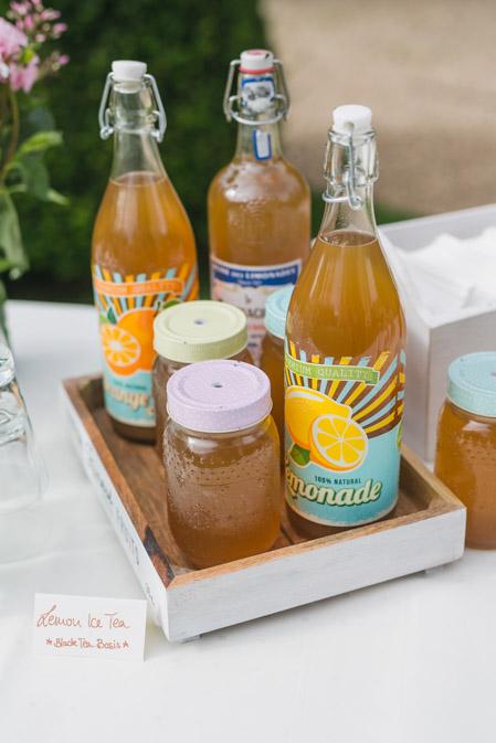 Hochzeit Getränke Lemonade