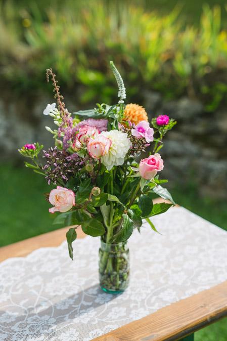 Hochzeit Dekoration Blumen