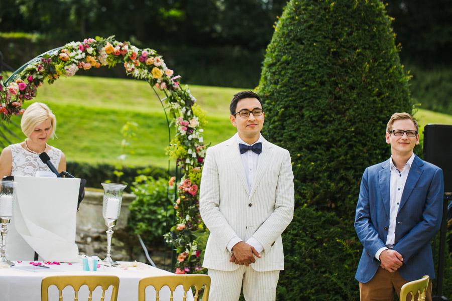 Hochzeit Trauung Bräutigam