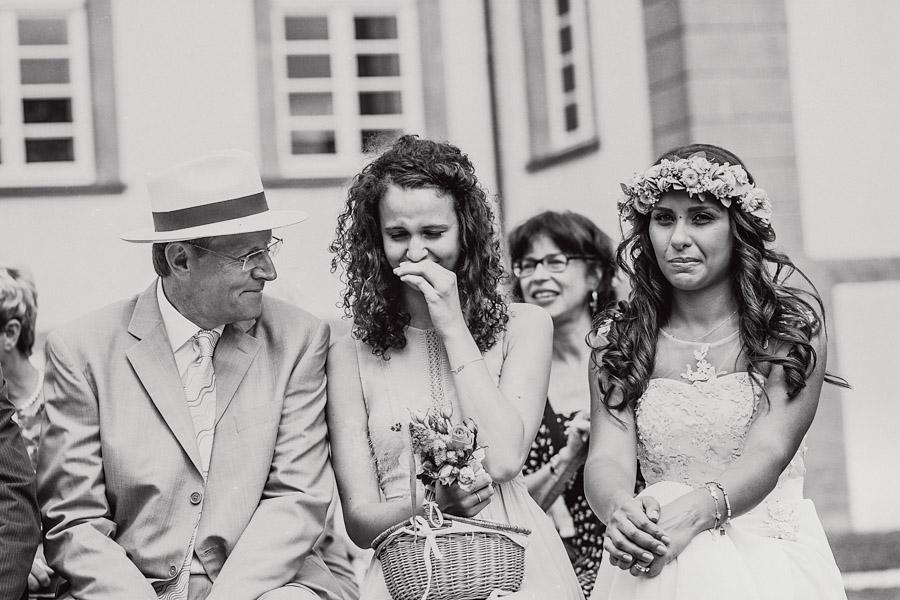 Trauung Hochzeitsgäste Emotionen