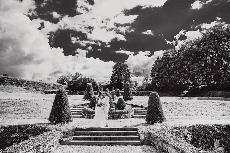 Hochzeit Brautpaarshooting Schlossgarten