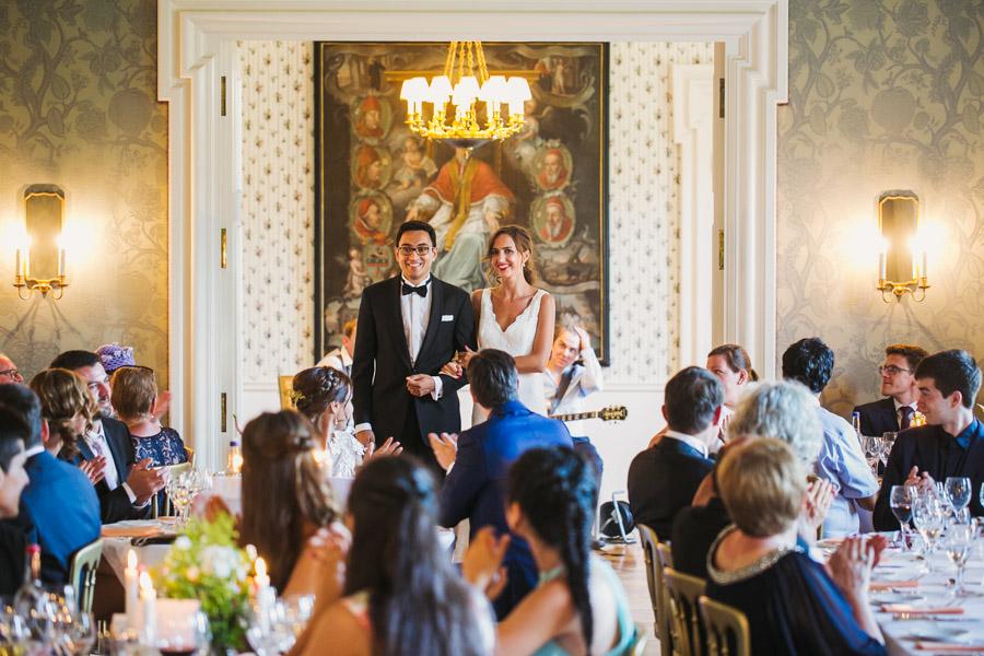 Hochzeit Brautpaar Rede