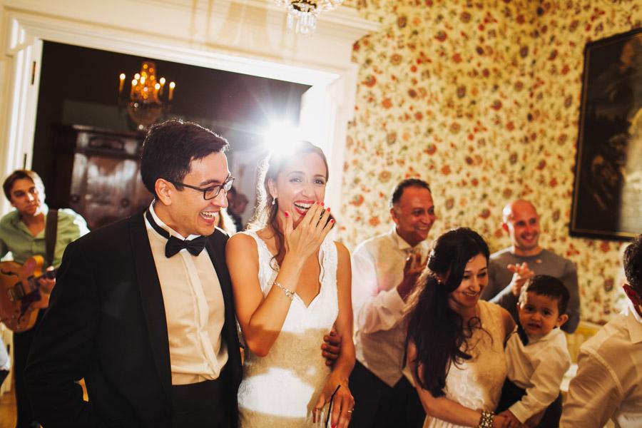 Hochzeit Brautpaar Glücklich