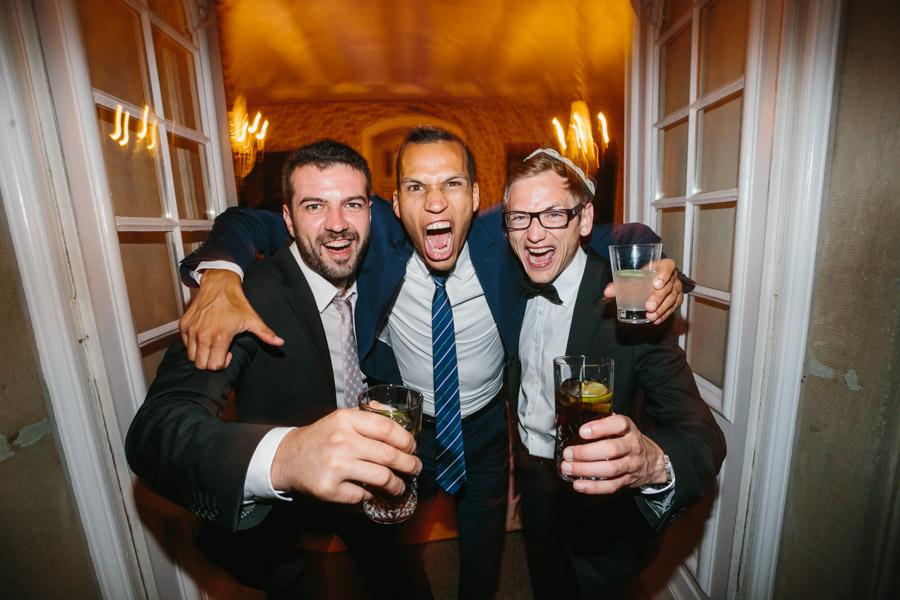 Hochzeit Hochzeitsgäste Gruppenfoto