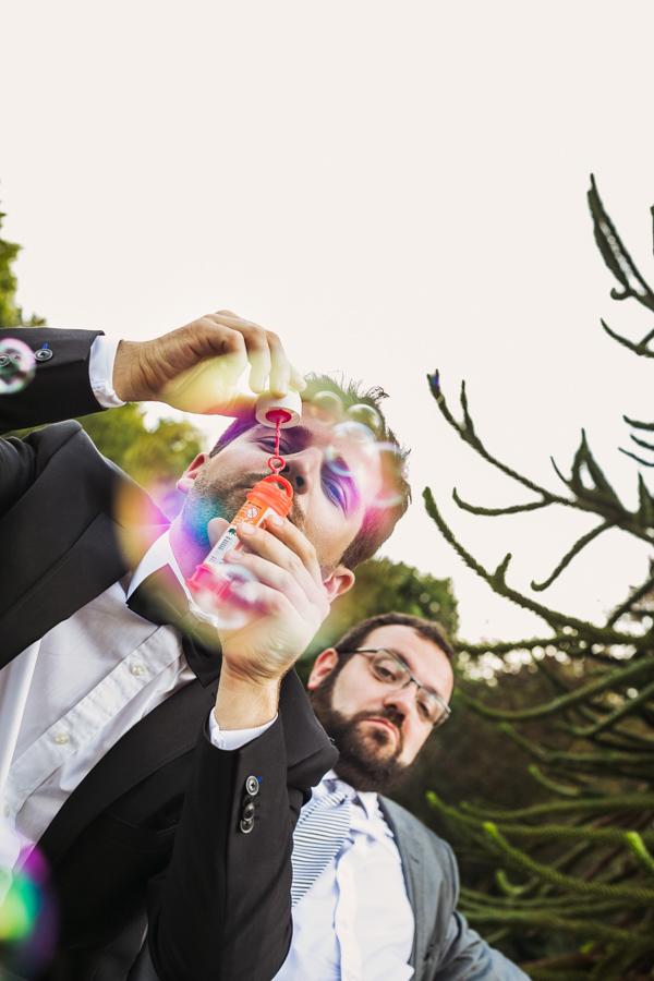 Hochzeitsgast Seifenblasen