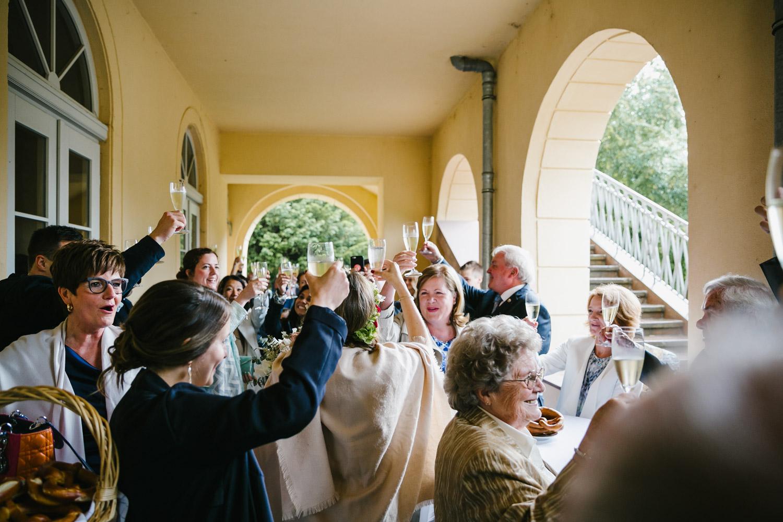 Hochzeit Toast