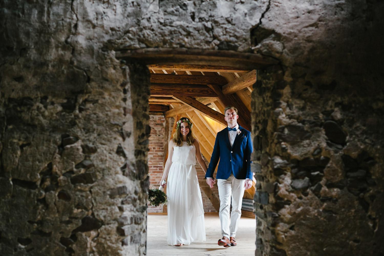 Brautpaarshooting Indoor