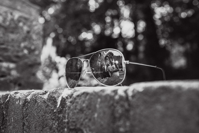Brautpaarshooting Ausgefallen Brille