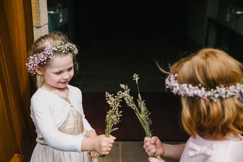 Blumenmädchen Hochzeit