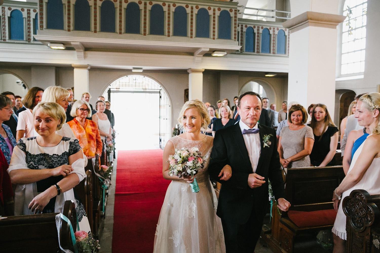 Hochzeit Einzug