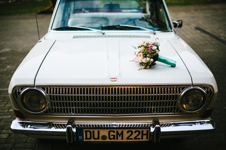 Oldtimer Brautstrauß