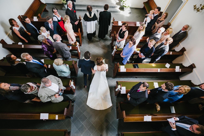 Brautpaar Einzug