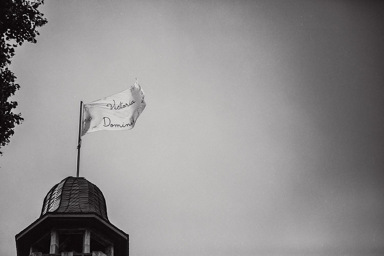 Wehende Fahne