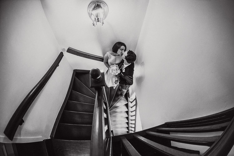 Paarshooting Treppe