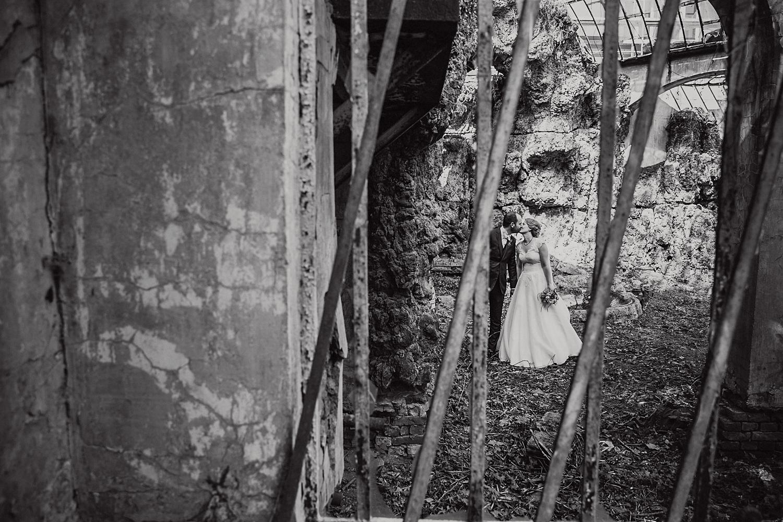 Ruine Brautpaarshooting