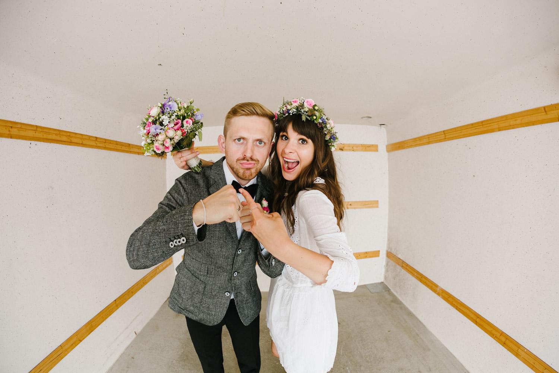 Brautpaarshooting Lustig