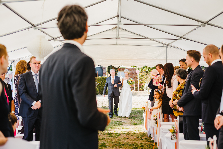 Braut Einzug