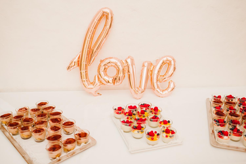 Dessert Hochzeit