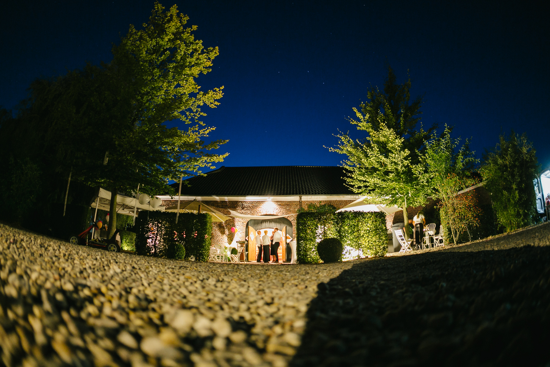 Hochzeitslocation Nachtaufnahme