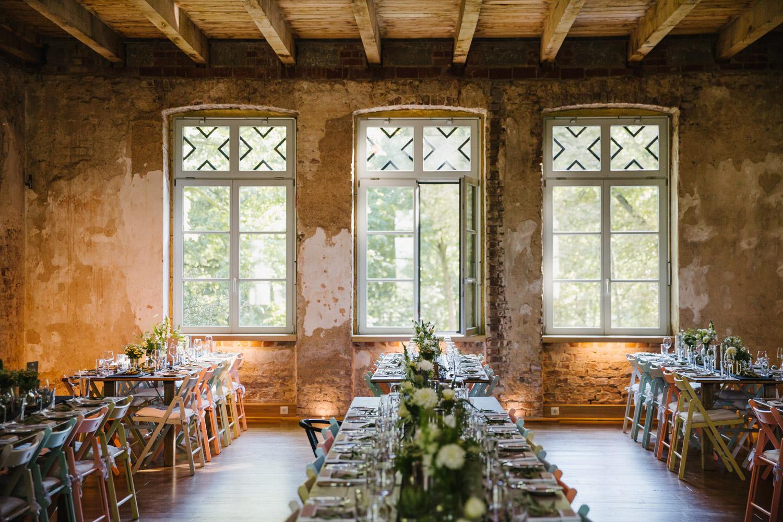 Fensterfront Hochzeitslocation