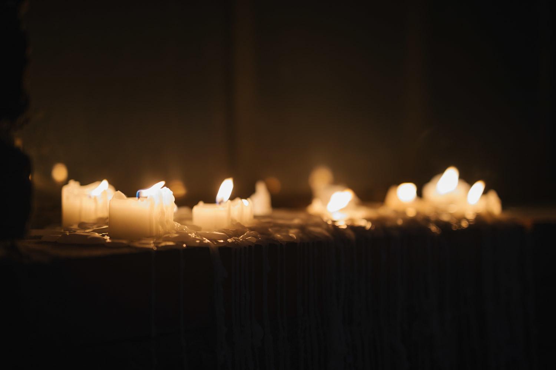 Kerzenlicht im Maschinenhaus Essen