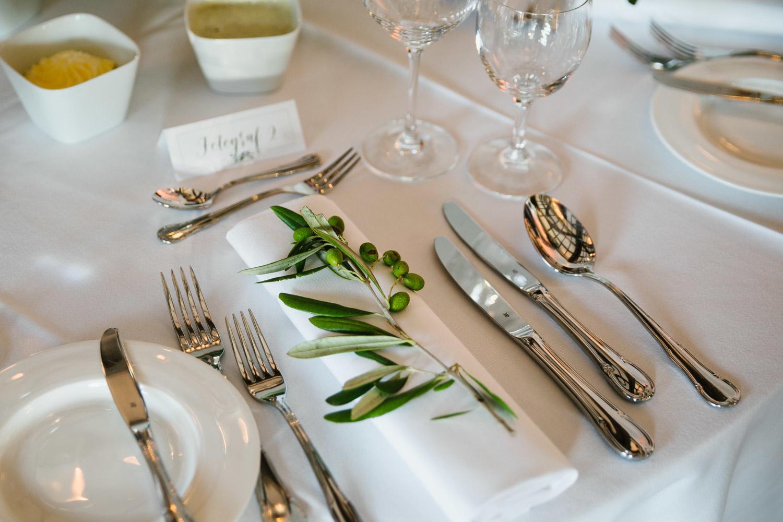 Details im Hochzeitssaal