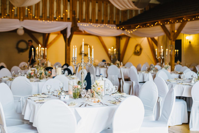 Saal der Hochzeitslocation