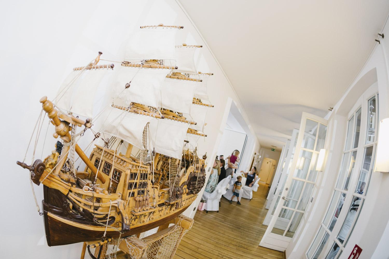 Dekoration der Schifferbörse
