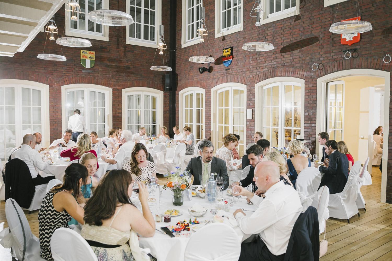Hochzeitsfeier in der Schifferbörse