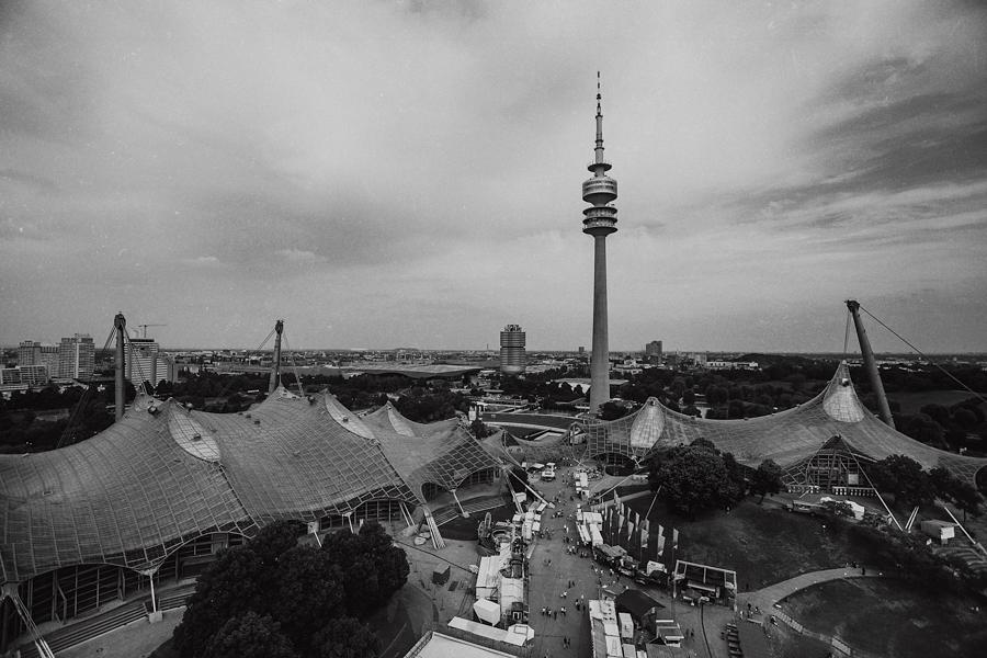 Olympiapark Landschaft