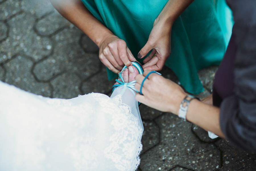 Brautschuhe Reparatur