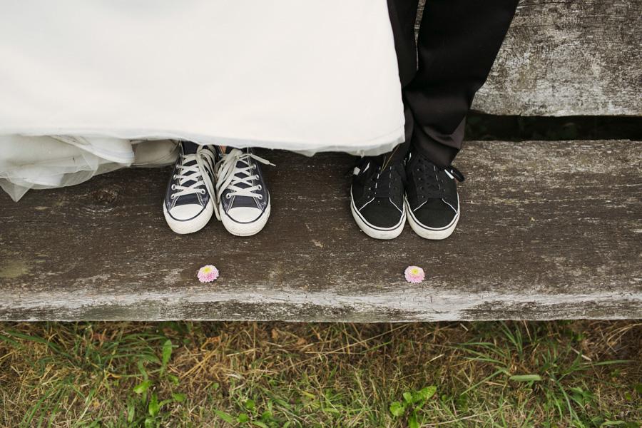 Chucks als Brautschuhe