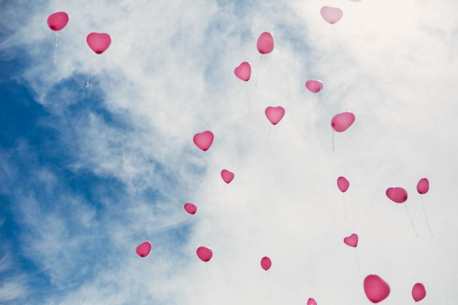 Hochzeit Herzen Luftballons