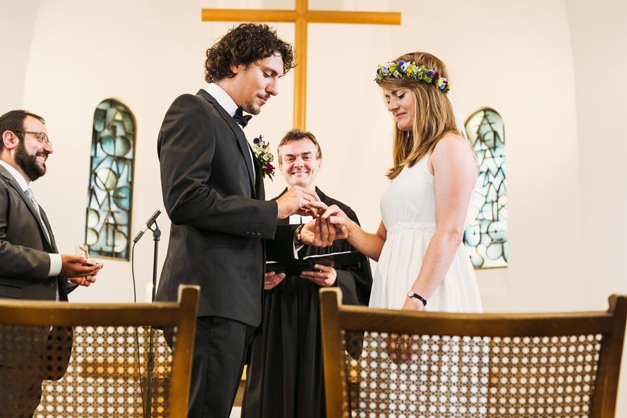 Brautpaar Trauung Ringwechsel