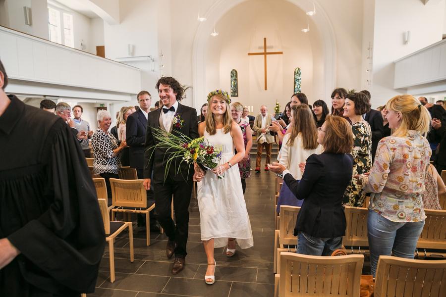 Trauung Brautpaar Auszug