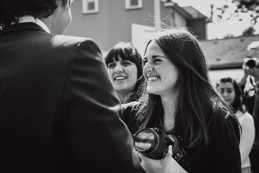 Hochzeitsgäste Gratulation