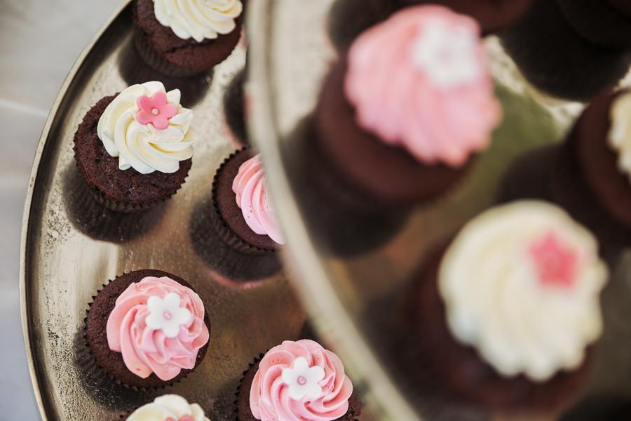Hochzeit Cupcakes rosa