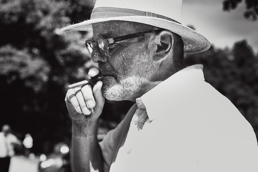 Mann Hut Rauchen