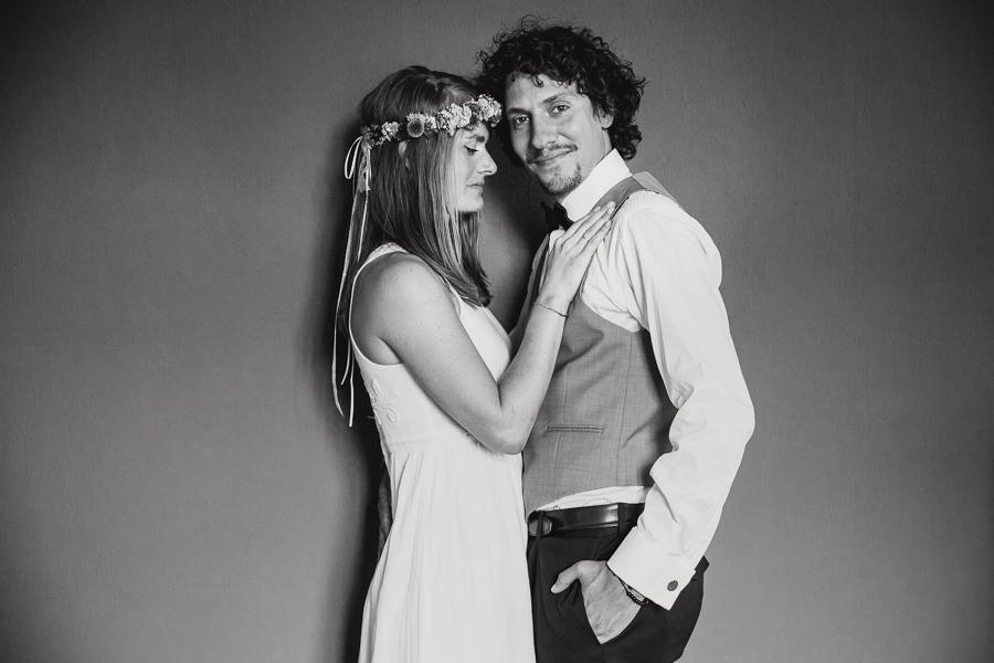 Brautpaar Hochzeitsshooting Glücklich