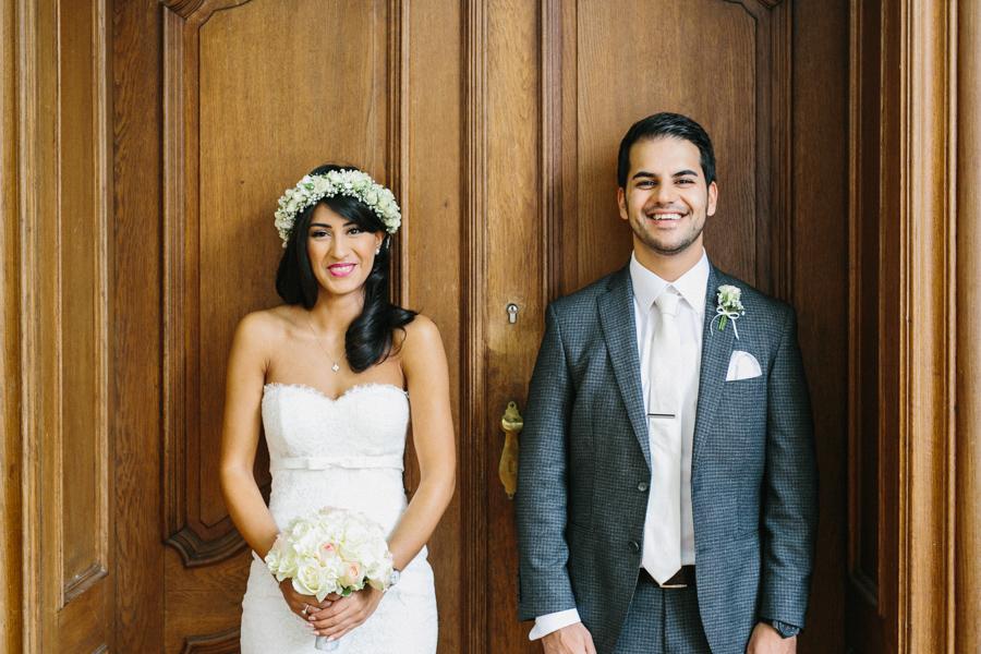 Persische Hochzeit Brautpaar