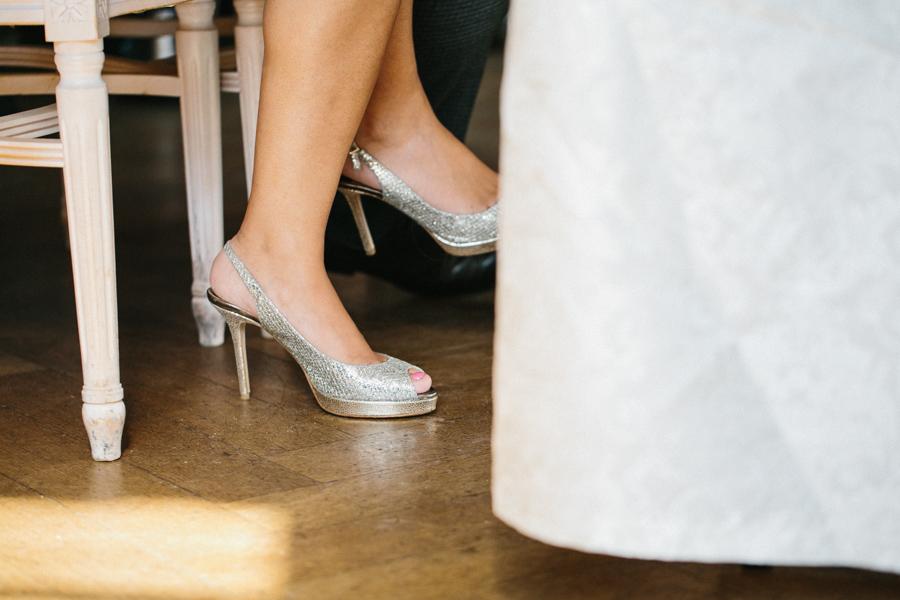 Hochzeit Trauung Brautschuhe