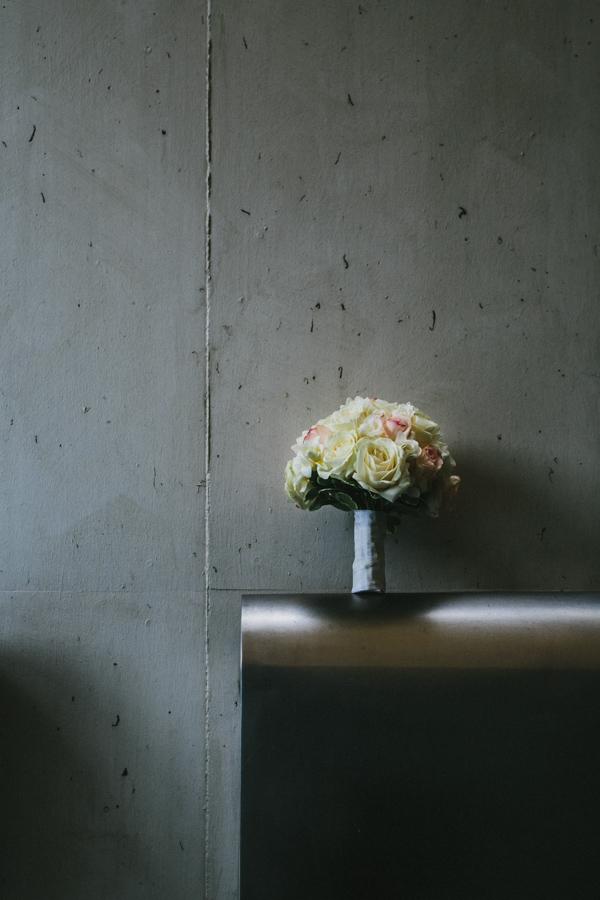 Hochzeit Brautstrauß Rosen