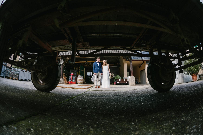 Brautpaarshooting Ausgefallen