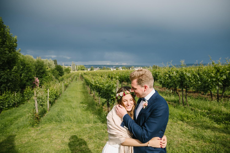 Brautpaarshooting Weinberge
