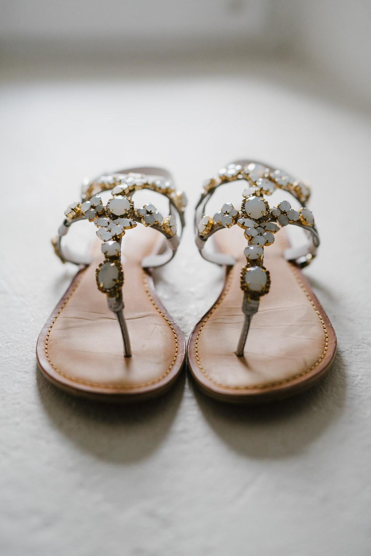Brautschuhe Sandalen Flach