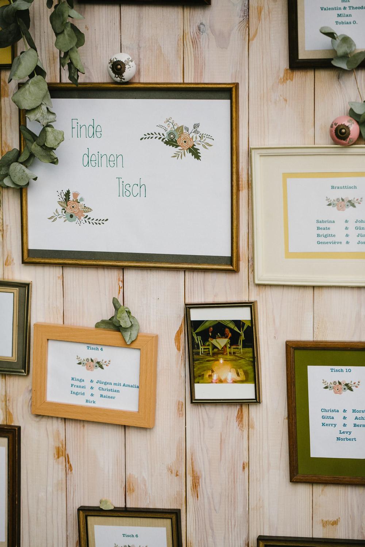 Hochzeit Sitzplan