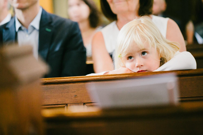 Hochzeitsgäste Kind